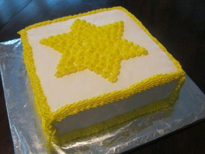 Bright star cake